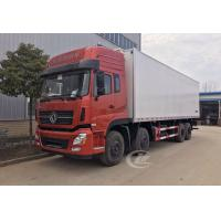 Quality Dongfeng Commercial Refrigerated Box Truck 12 Wheel 245hp 20 Ton -18 ℃  Degree for sale