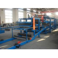 Best Rock Wool Sandwich Panel Production Line Machine / Sandwich Making Equipment wholesale