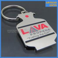 Quality LAVA metro gas tank shape bottle opener keychain as Petroleum companies gifts for sale