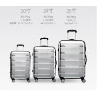 Quality 2017 New Design abs pc travel luggage new fashion ABS/PC luggage set for sale