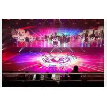 Best Pixel 10mm Indoor Advertising LED Display Aerodynamic Design 9kg/sqm wholesale