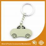 Quality Car Shape Custom Metal Keychains Nickel Roller / Nickel Satin for sale