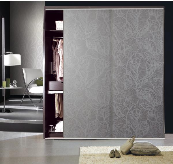 Aluminum Laminate Glass Closet Door Images