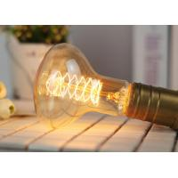 Buy Tungsten Vintage Edison Light Bulbs R80 Screw Spiral Oxidation Resistance at wholesale prices
