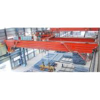 Quality Steel Plate Use Lifting Magnet Double Girder Overhead Bridge Crane for sale