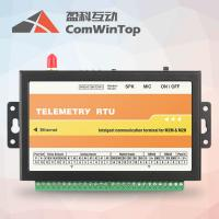 China Wireless Ethernet Modbus data logger with GSM alarm monitor on sale