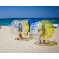 China TPU Inflatable Zorb Ball Interactive Bumper Bubble Soccer Football on sale