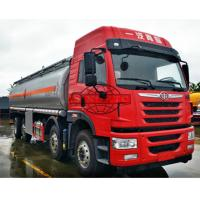 Quality 28000 - 35000 Liters Oil Tanker Truck 4 Axles Aluminium Alloy Material for sale