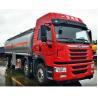 Buy cheap 28000 - 35000 Liters Oil Tanker Truck 4 Axles Aluminium Alloy Material from wholesalers