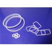 Quality O Shaped Silicone Rubber Gasket Non Standard Weak Acid And Alkali Resistance for sale
