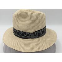 Quality Panama Roll up Hat Fedora Beach Sun Hat UPF50+ Braid Straw Short Brim Jazz Panama Cap for Women Men for sale