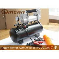 Buy cheap 8 Bar 12V Portable Air Compressor 4x4 Deflator 4wd Inflator Kit  8L Tank from wholesalers