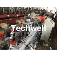 Quality PU Foam Rolling Shutter Door Slat Roll Forming Machine With 0-15m/min Forming Speed , Gearbox Drive Type for sale