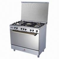 Quality Gas oven with cast iron trivet for sale