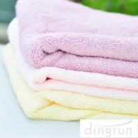 Quality AZO Free 100% Cotton Bath Towels Dry Fast All Ages OEM / ODM Available for sale