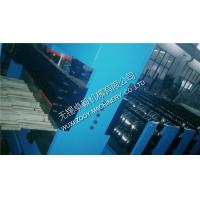 Quality 0.3MM - 0.8MM Roof Panel Roll Forming Machine With Hydraulic Cutting for sale