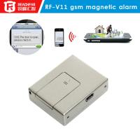 Hot! Door lock SIM RF-V11 mini Independent GSM Door Magnetic and Vibration Alarm With Active Listening
