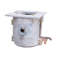 Quality Medium Frequency 2000HZ Electric Large Melting Furnace For Scrap Iron Steel for sale