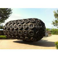 Quality No Air Leakage Marine Yokohama Pneumatic Rubber Fender With Tire Chain Net for sale