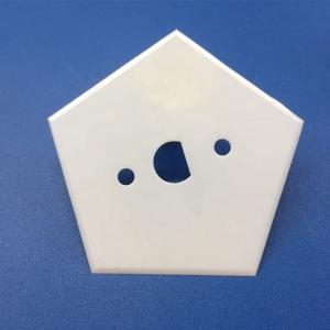 Quality Zirconia Ceramic Pentagon Ceramic Blades for Cutting Textile Fiber for sale