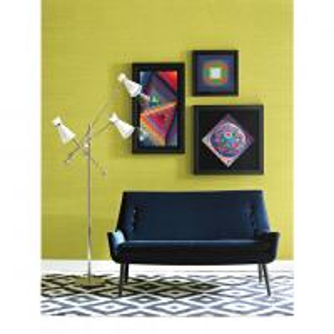 Quality Dark Blue Fabric Upholstery Sofa , Modern Fabric Sofa European Style for sale