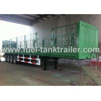 Double Tyre Container Transport Trailer Heavy Duty  Submerged Arc Welding