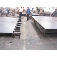 Quality 8mm checker plate electronic Truck weighbridge scales with side rails 80 tons for sale