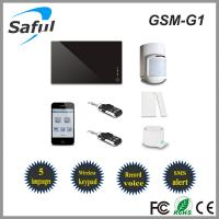 China Saful GSM-G1 intelligent home security GSM alarm system on sale