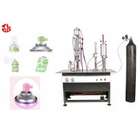 Best Semi Automatic Aerosol Filling Machine For Breathing Fresh Air Spray Can wholesale