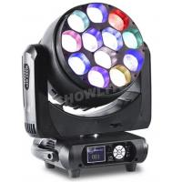 Quality 12x40 W Rgbw LED Moving Head Light 4 In1 Zoom Wash Moving Head For Cocnert Effect for sale