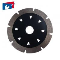 China V Shape Segmented Turbo Diamond Blade For Cutting Marble Granite Concrete on sale