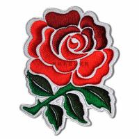 Quality Embroidered Applique Patches with Embossed On Flower Decoration Custom Size for sale