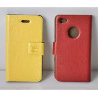 Best iPhone Case Slim Genuine Leather Case Cover for Apple iPhone 4 4G wholesale