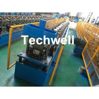 Quality Steel Metal Gutter Roll Forming Machine For Making Rainwater Gutter & Box Gutter With PLC Frequency Control for sale