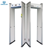 Quality Infrared Walk Through Temperature Scanner Security Gate For Public Area Corona Virus Spreading for sale