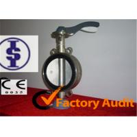 Quality Center line stainless steel butterfly valve for sale