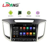Quality Built - In GPS Navigation System Hyundai Car DVD Player Mirror Link Support for sale