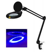 Buy cheap UV magnifying lamp ultraviolet magnifier lamp 5inch 127mm lens led light from wholesalers