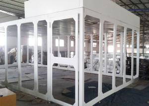 Quality Spray Coated Steel Portable Class 100 Cleanroom Booth / Laminar Flow Booth for sale