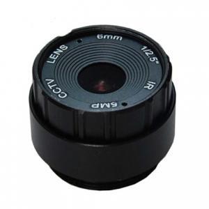 "Quality 1/2.5"" 6mm F2.0 5Megapixel CS-mount IR CCTV Lens for security camera for sale"