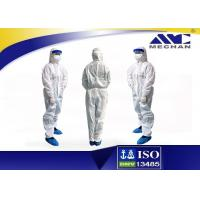 Quality Chemical Disposable Isolation Gowns Coverall / Safety Cloth Disposable Surgery Gowns for sale
