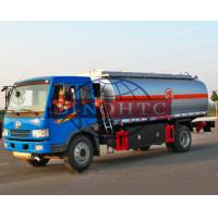 Quality 10 - 15 Tons Oil Tanker Truck 6557cc Engine Displacement 7 / 8F 1R Gearbox for sale