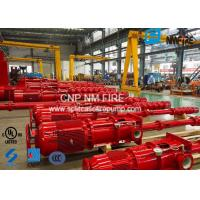 China Centrifugal Motor Drive Vertical Turbine Fire Pump Ductile Cast Iron Casing on sale