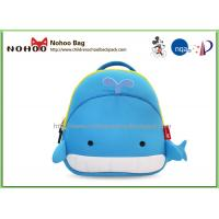 Quality Cute Cartoon Whale Children School Bags , Animal Backpacks For Kids for sale