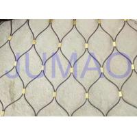 Quality Thin Fall Protection Architectural Metal Fabric Easy To Install For Partition for sale