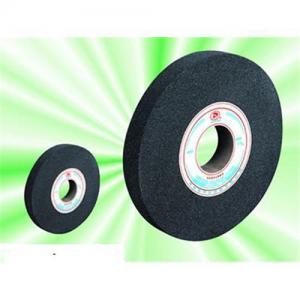 China Black silicon carbide abrasive wheel on sale
