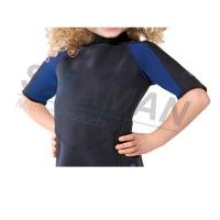 Quality Premium Neoprene 2mm Kids Shorty Wetsuit Laminated With Nylon Jersey Double Side for sale