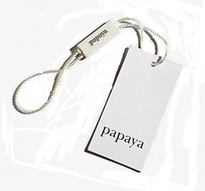 Quality custom hang tag with satin for sale