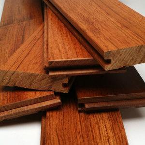 Quality Jatoba Parquet/Brazilian Cherry Wood Parquet Flooring (SJ-2) for sale