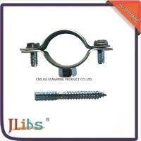 China Iron Sheet Materials Cast Iron Pipe Clamps 18mm-200mm Size OEM Accepted on sale